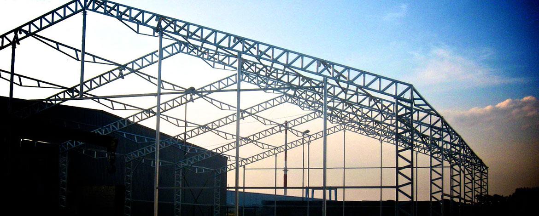 Hale stalowe - budowa
